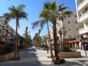 pedestrian area hurghada