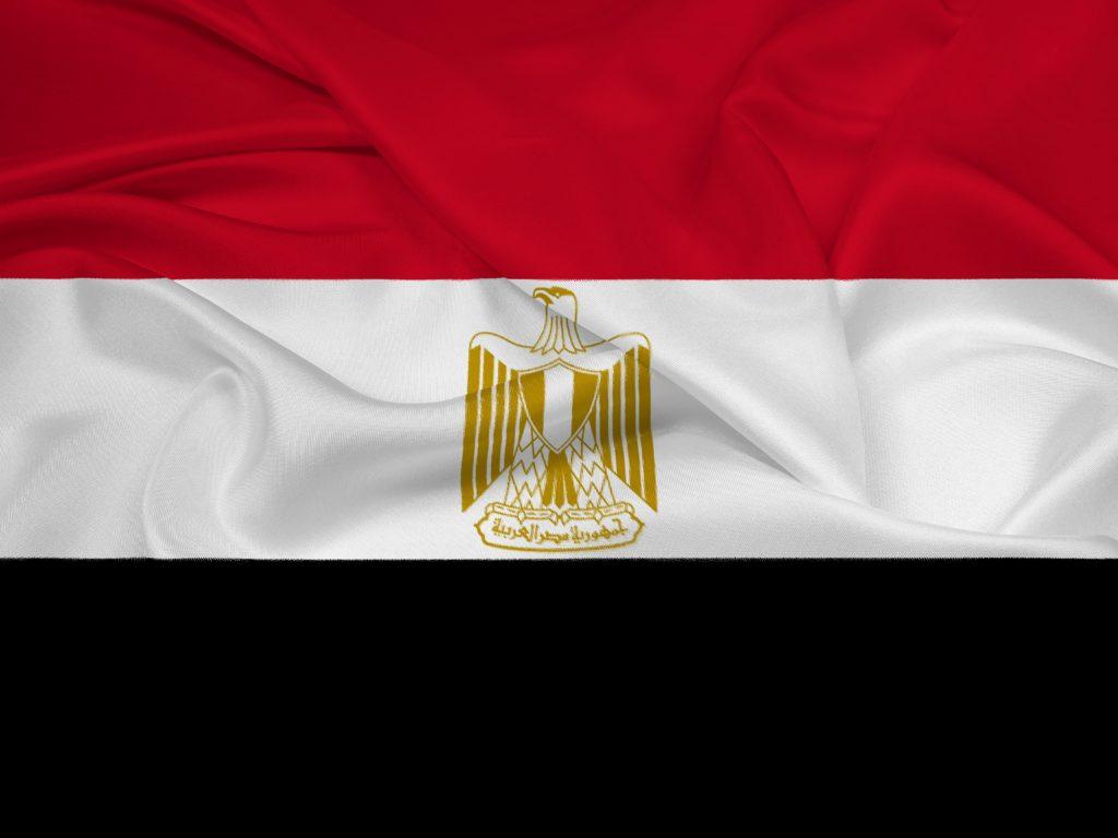 Ägyptische Flagge