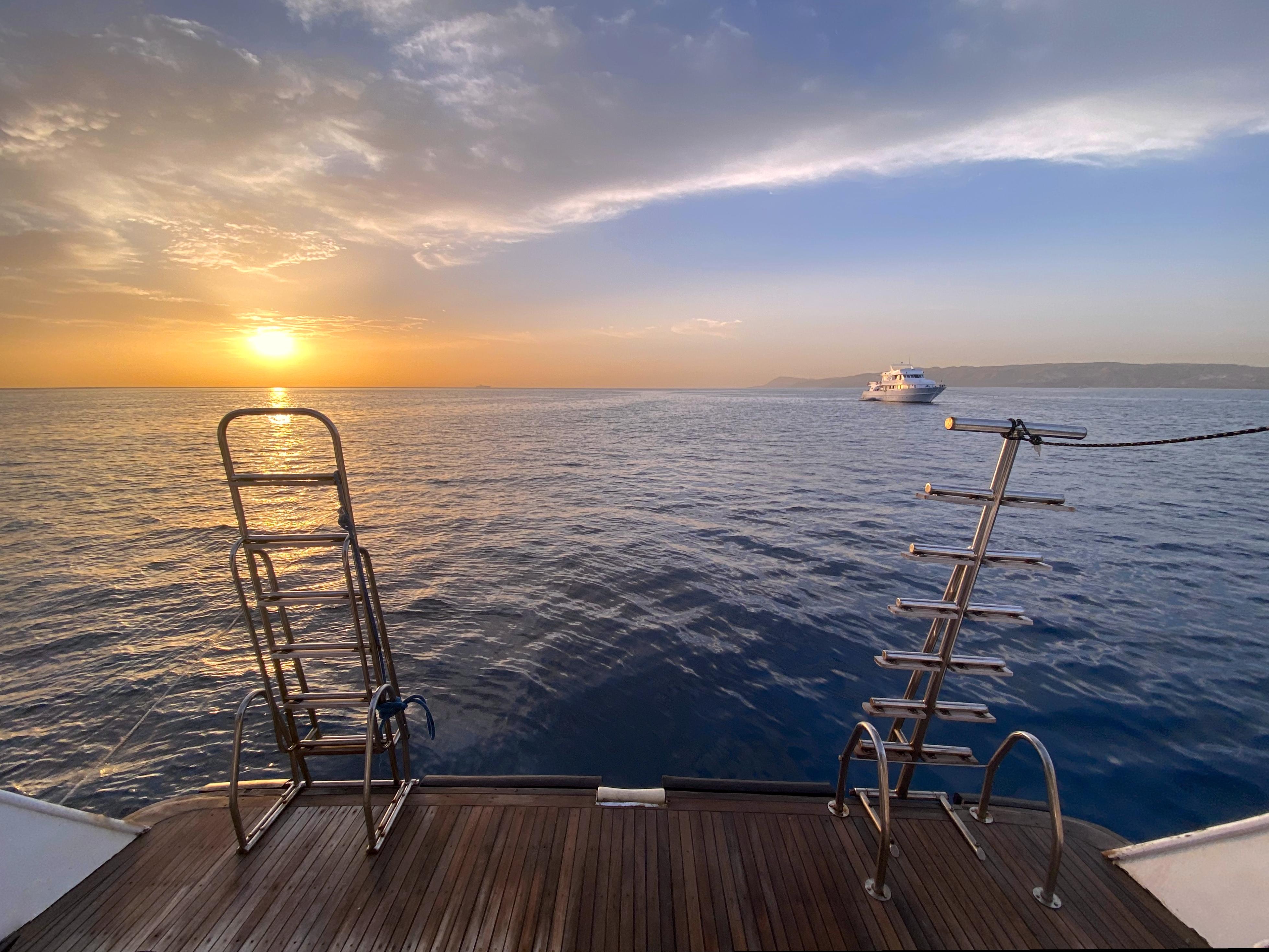 Minisafari Bahlul Sonnenuntergang
