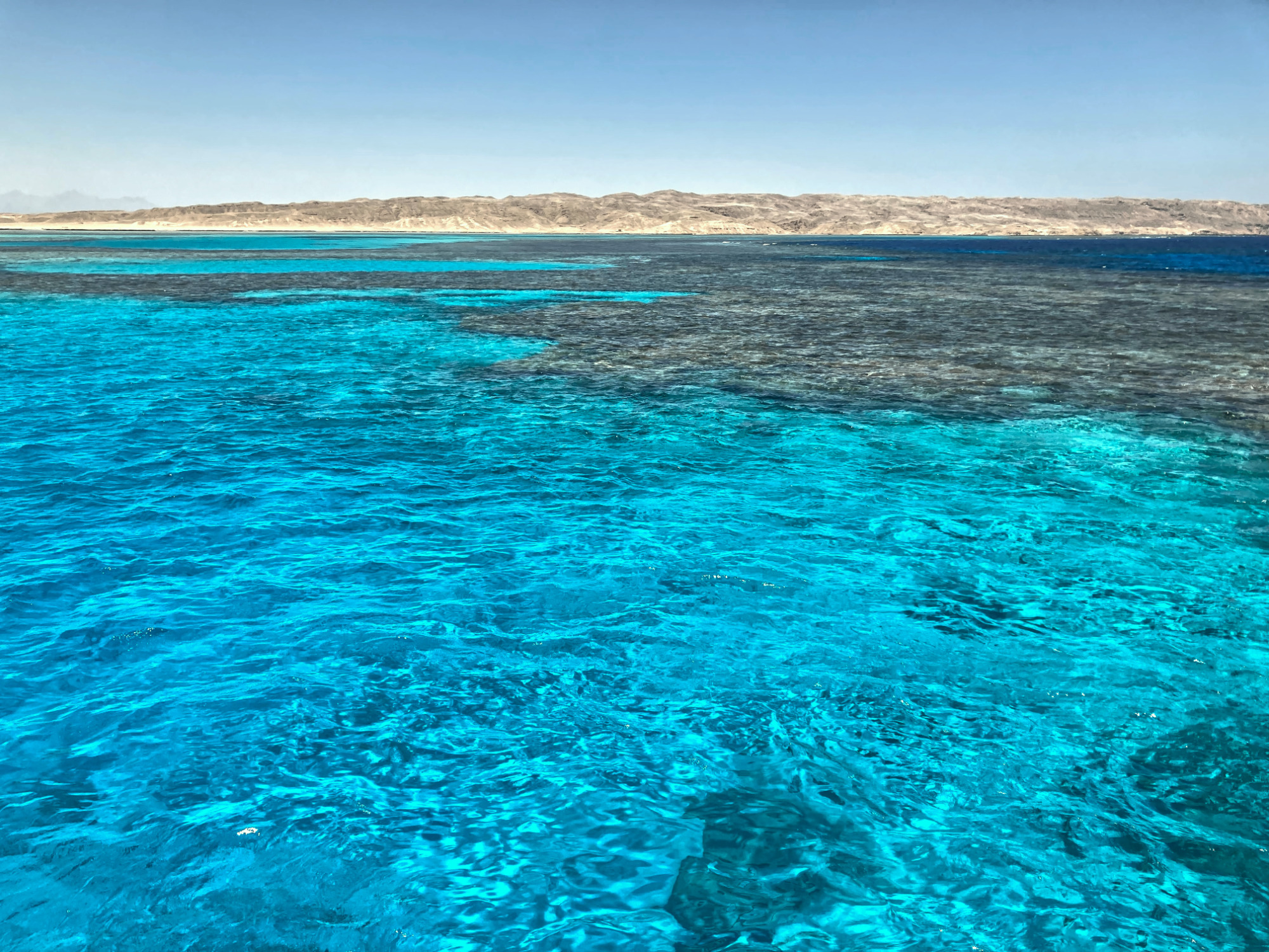 Wenig Wasserbewegung und tolle Sicht
